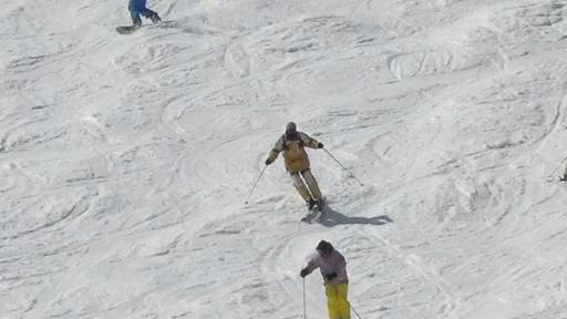 かぐら春スキー・ラスト