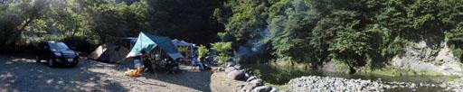 サイレントリバーキャンプ場
