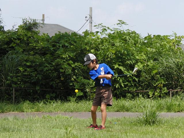 子供ゴルフ