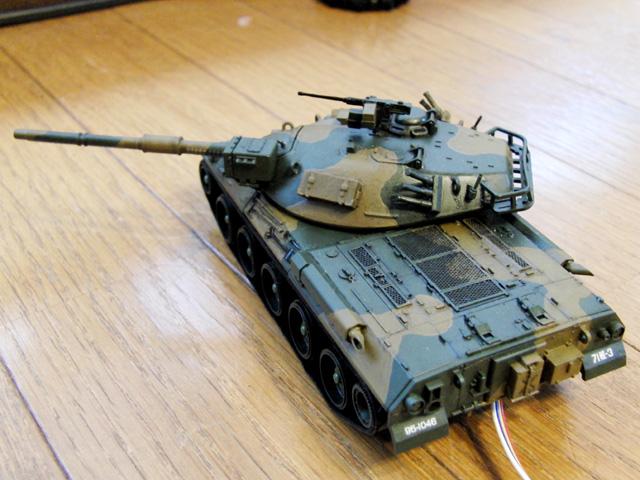 74式リモコン戦車