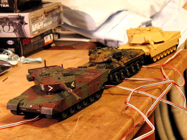 リモコン戦車