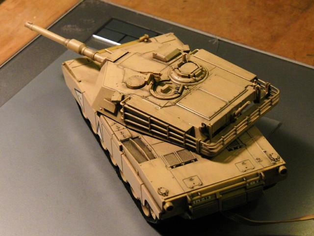 リモコン戦車の塗装