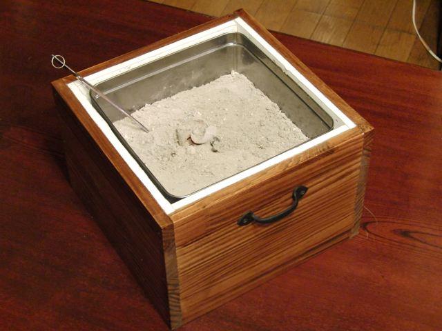 火鉢の自作