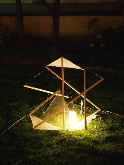 浅野川ライトアップ 光のオブジェ