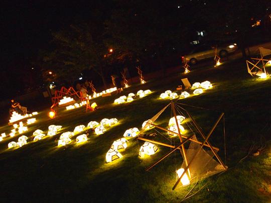 浅野川ライトアップ