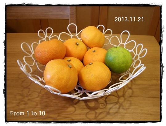レモン追熟2013年11月