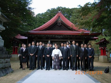 霊山神社記念撮影1