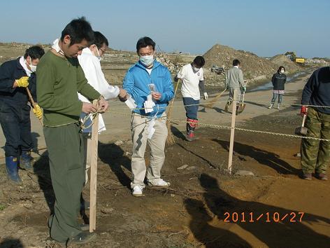 復興支援活動②(竹駒稲荷神社)1