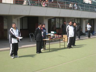 2010仁紫カップ 決勝 閉会式