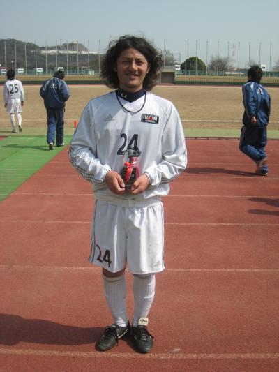 2010仁紫カップ 決勝 MVP(鶴)