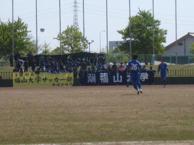 中国L 第2節 vs平大(応援団)