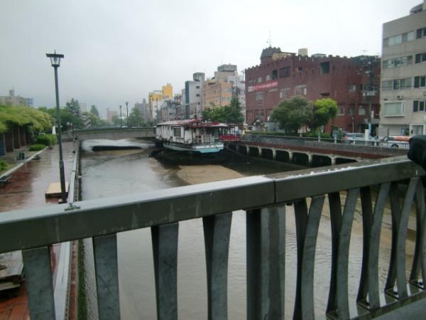 呉の街は雨でした