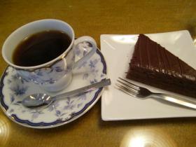 3月26日珈琲ケーキ