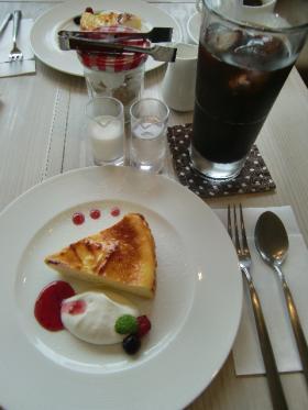 7月2日チーズケーキ