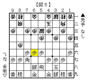 朝日杯5六歩 図5