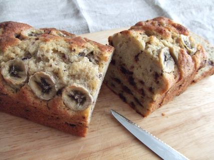 バナナチョコパウンドケーキ1