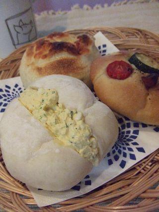 朝パン3種