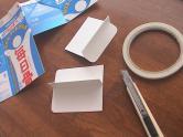 牛乳パックで仕切りを作る (3) 166