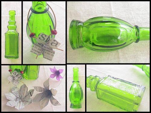 フランフランの小瓶コラージュ500