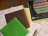 折り紙に英字プリント166