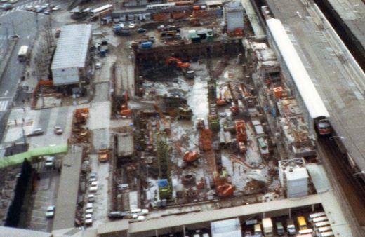1980?大阪駅ターミナルビル建設978-2