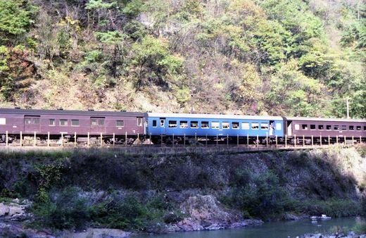 19821103福知山線・武田尾002-1