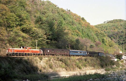 19821103福知山線・武田尾001-1