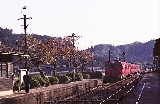 19821103福知山線・武田尾018-1