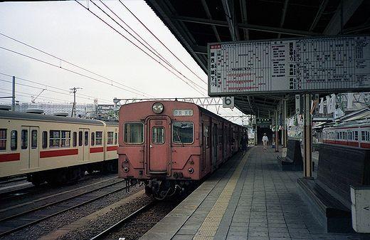 19840921奈良線・宇治駅099-1