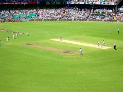 クリケットの試合