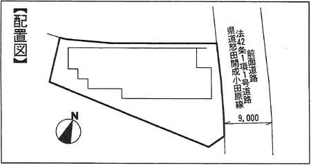 扇町 配置図