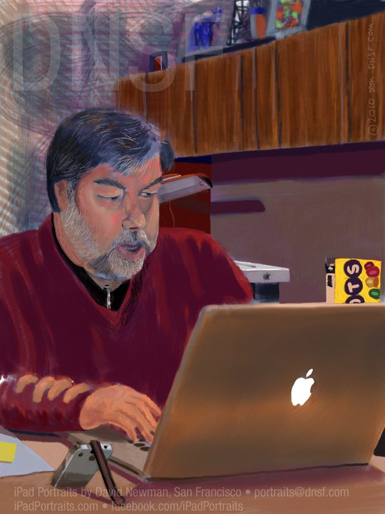 Steve_Wozniak's_iPad_Portrait