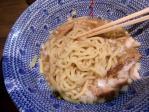 つけ麺みどり 油そば 麺 10.3.28