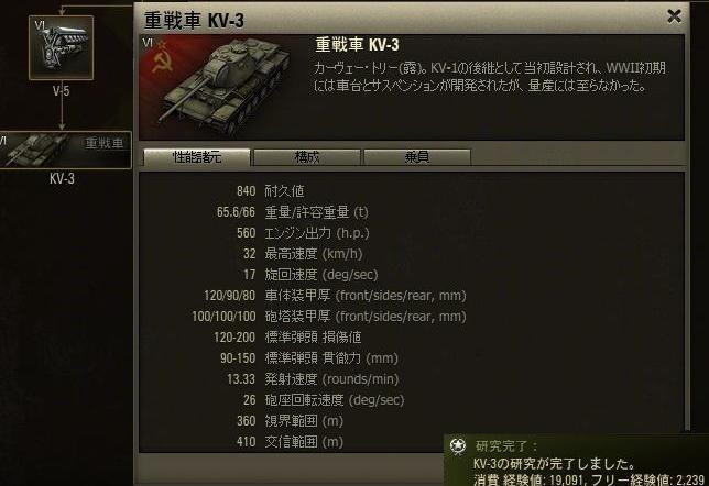 KV3開発