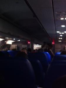 モスクワ-イスタンブール機内