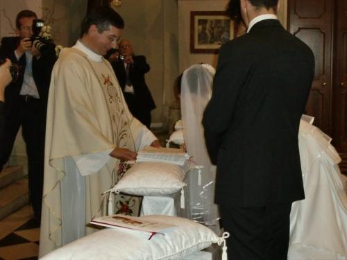 たかじん嫁さくらさんとイタリア人の結婚式