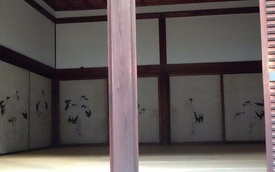 殿上人の間 鶴の間