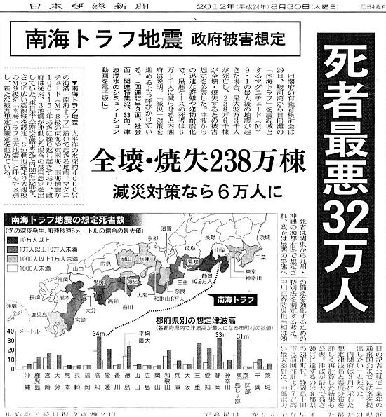 日経 2012.8.30付