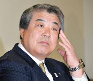 全日本柔道連盟の上村春樹会長