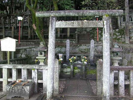 竜馬と中岡慎太郎の墓所
