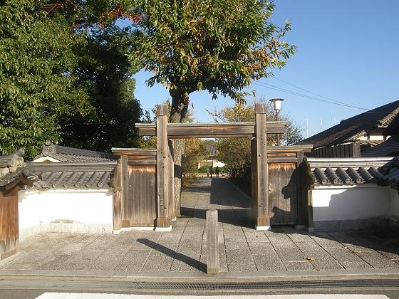薬師寺への道 ブログの5