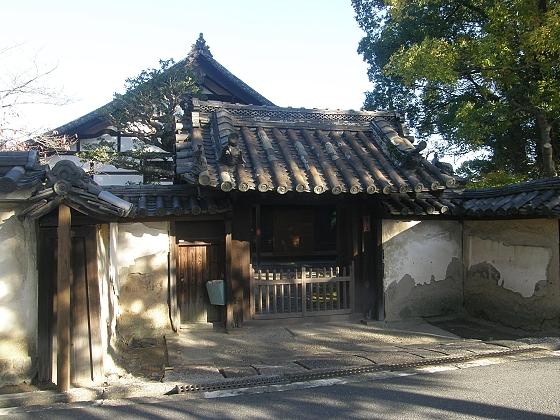 薬師寺への道 ブログの4