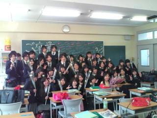最後のクラス写真