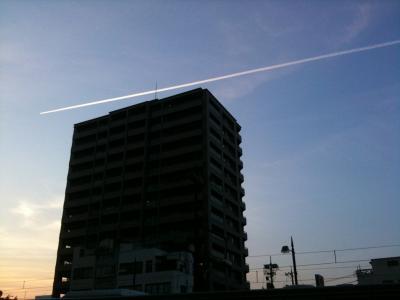 飛行機雲1