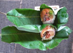 朴葉寿司2
