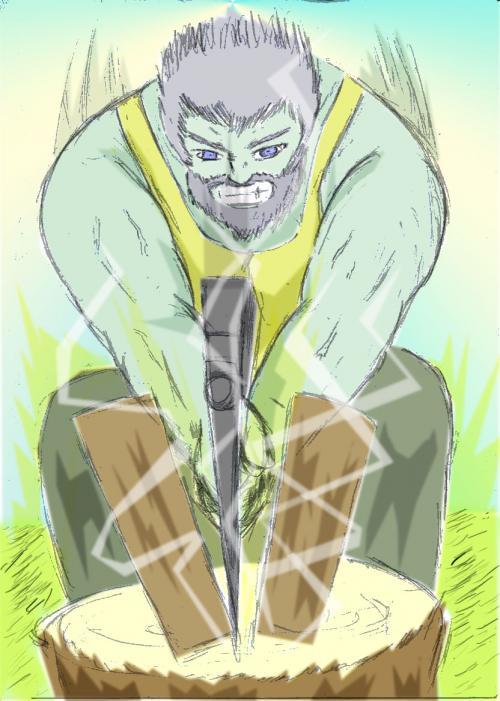 斧術士ルガディン500