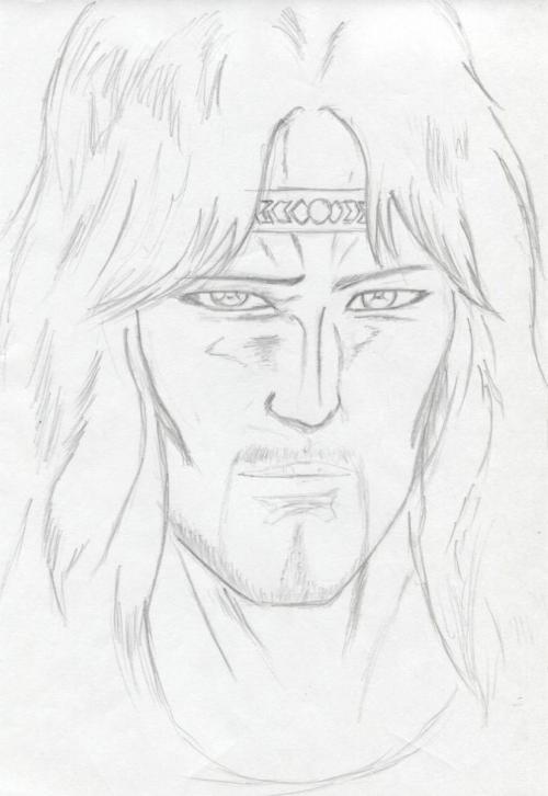 トキ(白髪)