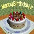 バースデーケーキ2歳