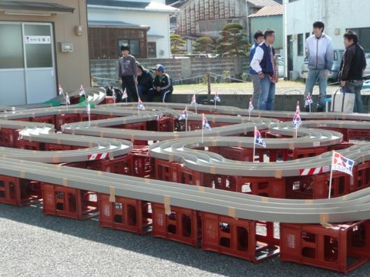 タミヤ ミニ四駆レース会場