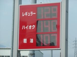 4月6日給油